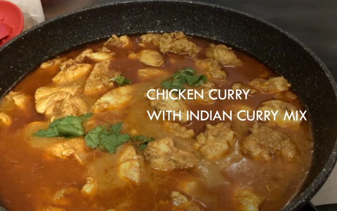 Chicken Curry with Indian Spice Mix