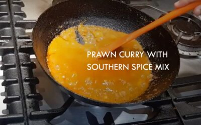 Prawns Curry with Southern Spice Mix